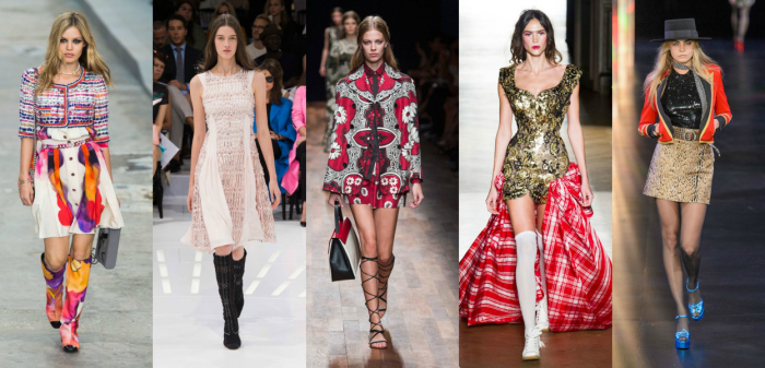 top five runway looks of Paris Fashion Week SS15