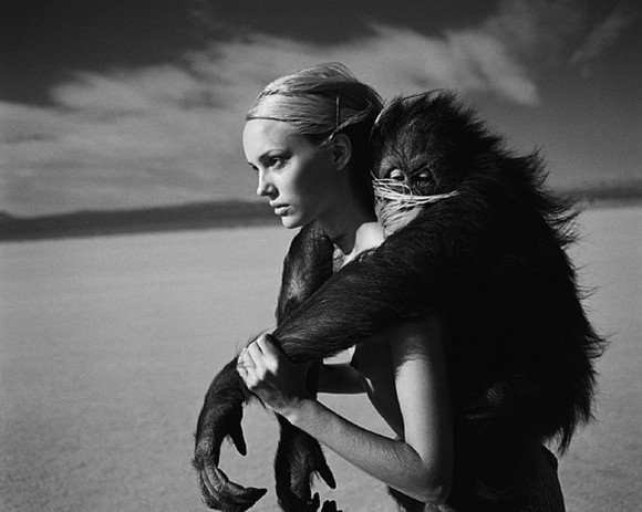 ANIMAL FEELING FASHION EDITORIAL monkey woman