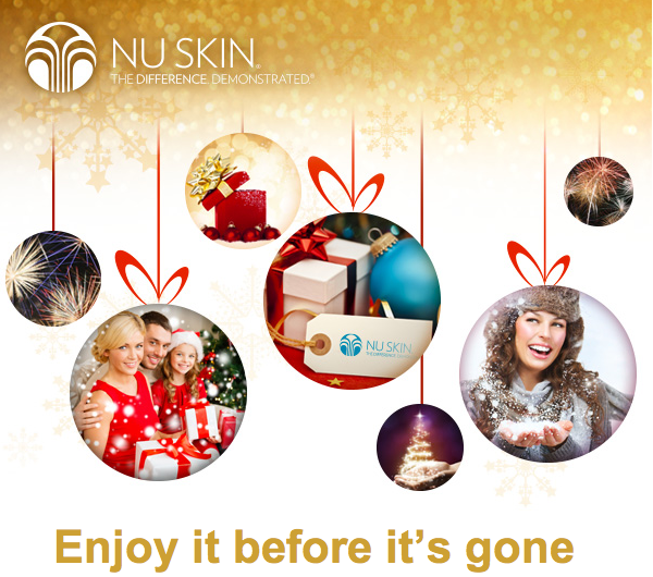 NU SKIN Christmas gifts list
