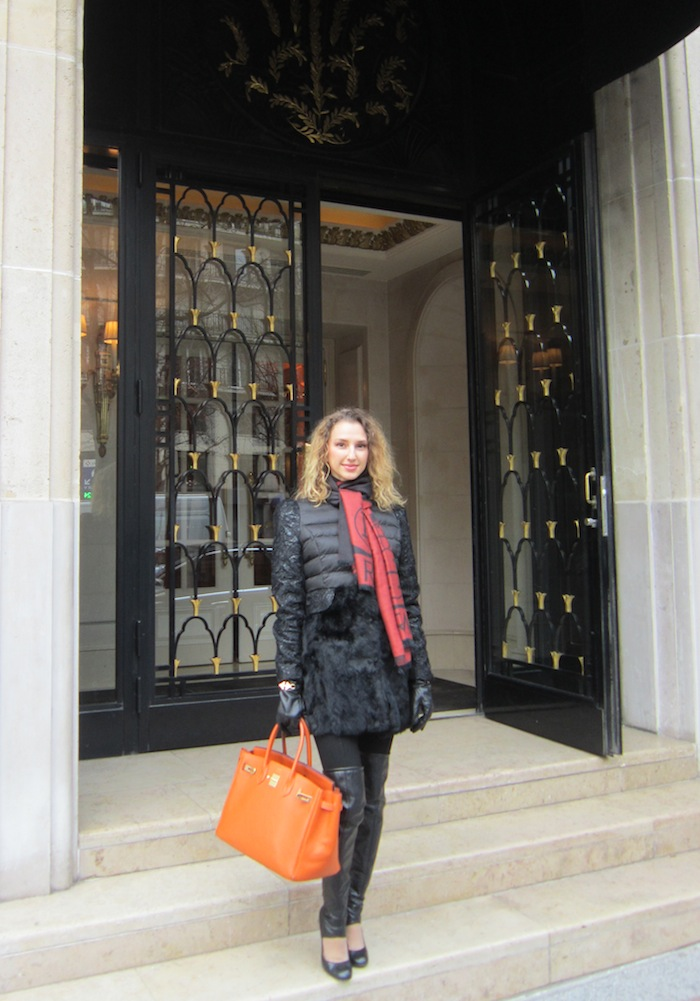 Paris fashion blogger couture hermes birkin bag