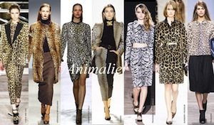 ANIMALIER INSPIRATION DES DEFILES