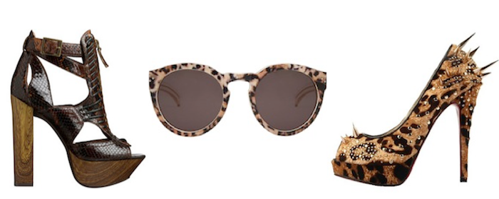 animalier trends - louboutin shoes - sunglasses lovers