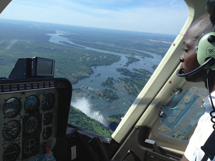 victoria falls by helicopter 09