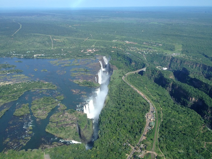 victoria falls by helicopter 10