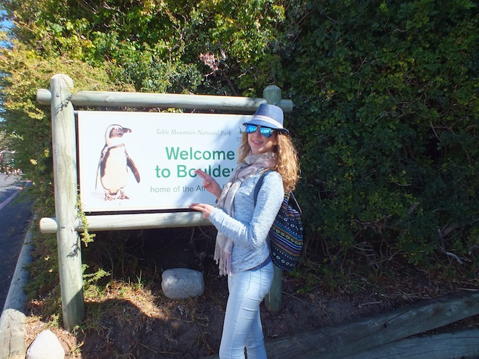 welcome to Boulders - home of the African penguins