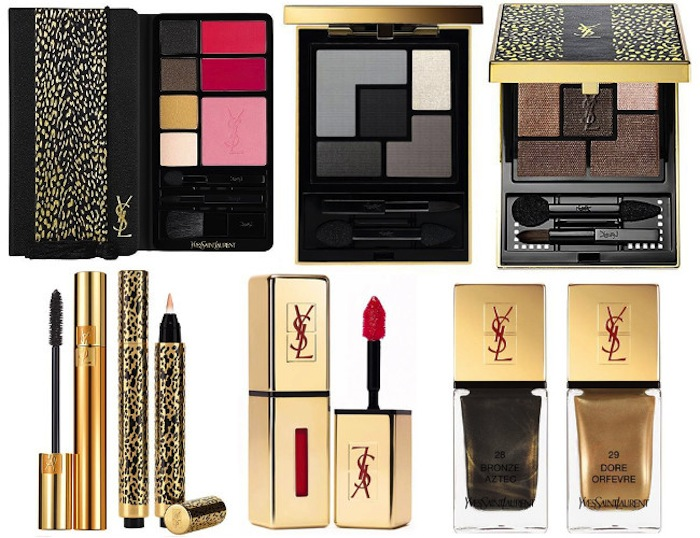 ysl wildly gold holiday 2014 - beauty blog