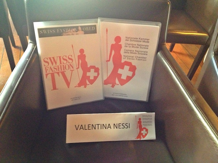 Conferenza stampa CNMS Swiss Fashion TV