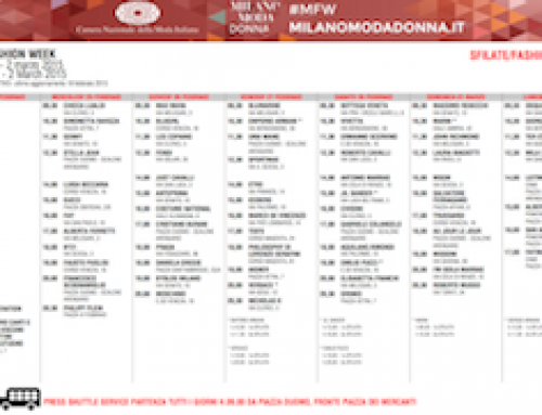 New York Fashion Week 2015 Schedule