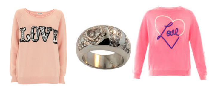 VFW Fashion Trends - San Valentine Edition LOVE sweater
