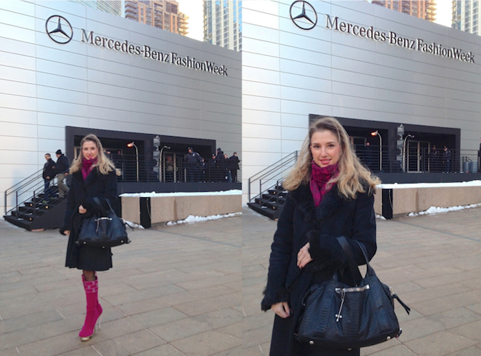 fashion blogger valentina - new york mercedes benz fashion week - street style 10