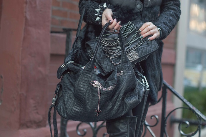 new york fashion blogger look 2 New York Fashion Week  Opera Bags and Chanel Boy Chain 12