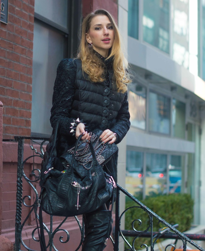 new york fashion blogger look 2 New York Fashion Week chanel chain bag 13