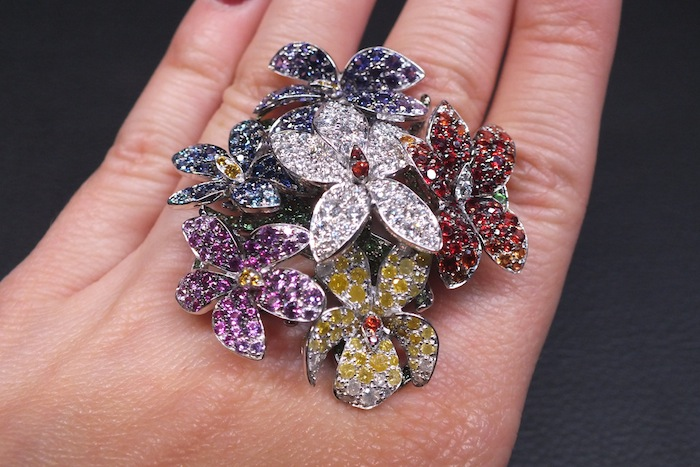 Bouquets ring by Palmiero Jewels