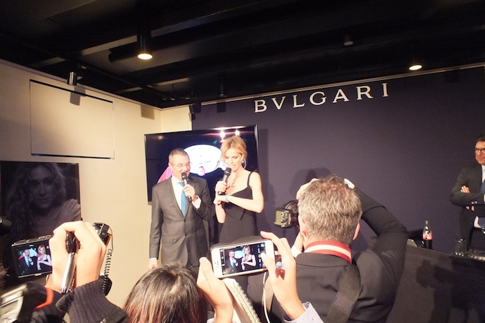 Bulgari event with Eva Herzigova