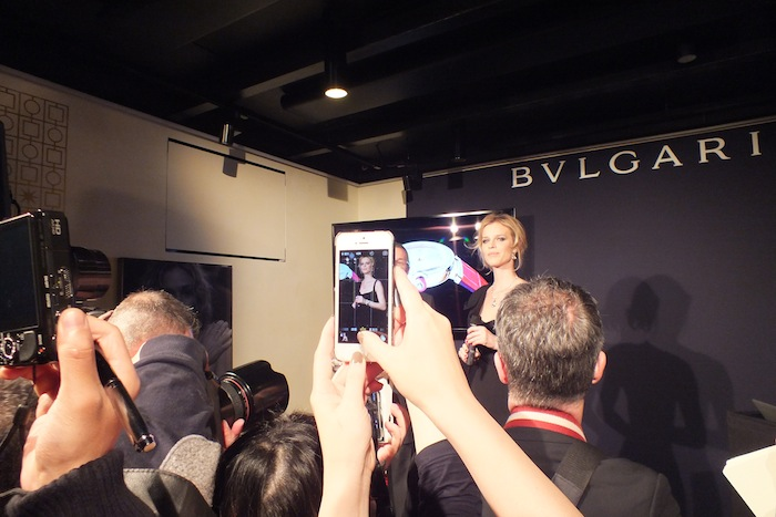Eva Herzigova at Bulgari event
