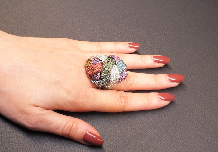 Gomitolo Ring by Palmiero Jewels