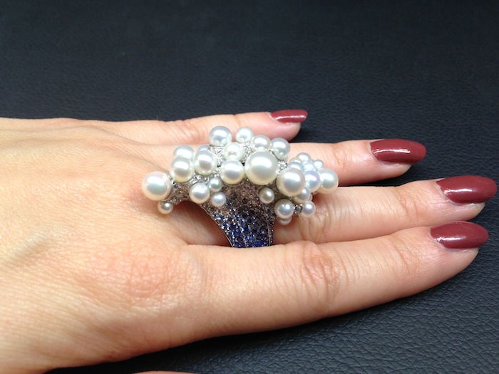 Underwater world ring by Palmiero Jewellery design