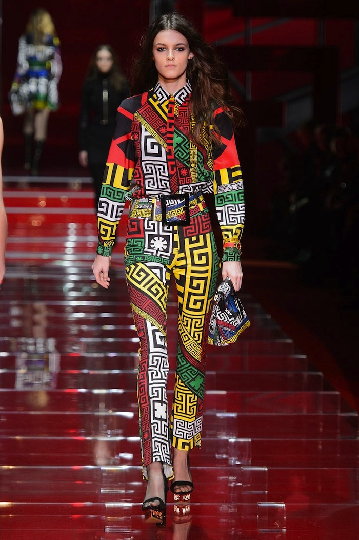 Versace Runway Look Fall Winter 2015-2016