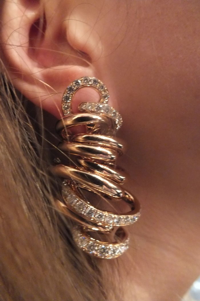de grisogono vortice collection earrings