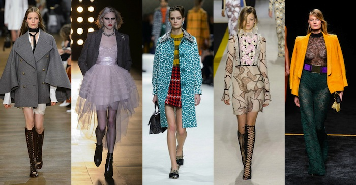 TOP 5 RUNWAY LOOKS DE LA FASHION WEEK DE PARIS AI15