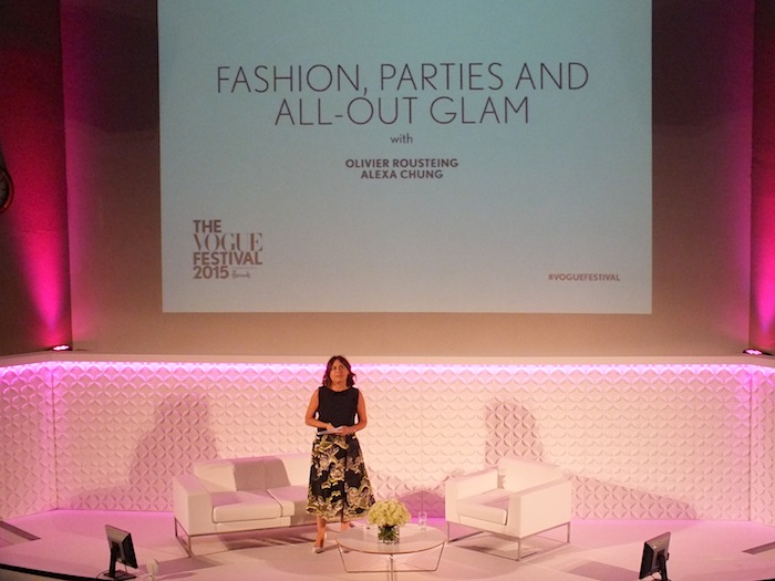 alexandra shulman presents the vogue festival