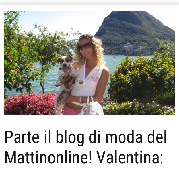 New Fashion Blog on Mattinonline!
