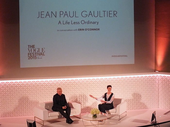Jean Paul Gaultier a life less ordinary in conversation with Erin O'Connor