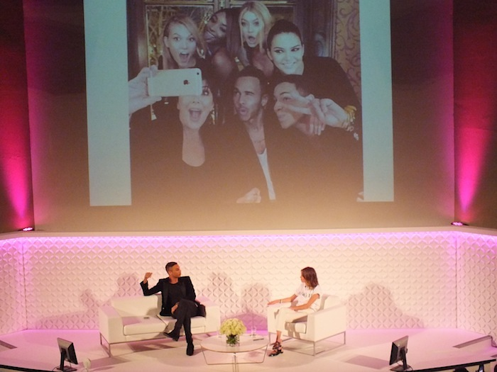 Olivier Rousteing in conversation with Alexa Chung-Fashion Parties and All-Out Glam