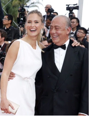 Bar Rafaeli and Fawaz Gruosi of de GRISOGONO