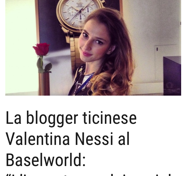 BASELWORLD NEWS PRESSE – Mattinonline – Avril 2015