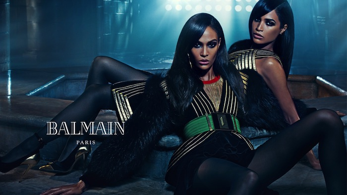 BALMAIN_FALL_2015_CAMPAIGN_starring_Joan_smalls-and_Erika_Smalls_VFW_MAG