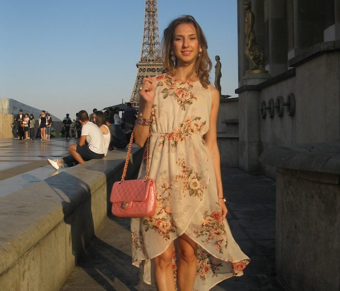 FLOWER COUTURE DRESS PARIS