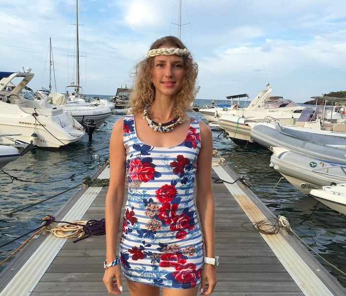 NAUTICAL HIPPIE DRESS