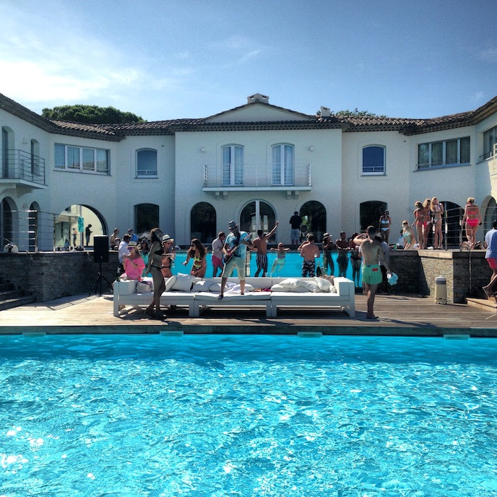 The Famous Bbq Pool Party In Saint Tropez V Fashion World