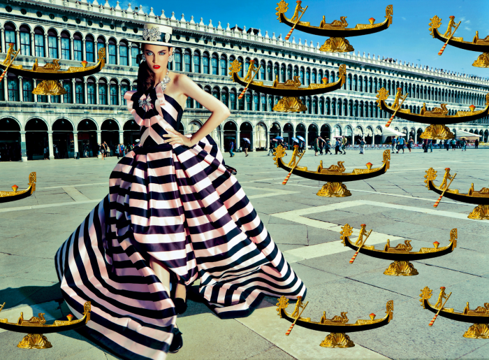 My Fascination with Venice with Zuzanna Bijoch by Pierpaolo Ferrari for Vogue Japan February 2014 (1)