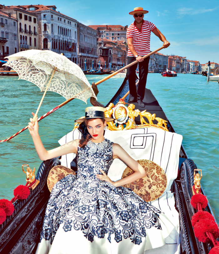 My Fascination with Venice with Zuzanna Bijoch by Pierpaolo Ferrari for Vogue Japan February 2014 (8)
