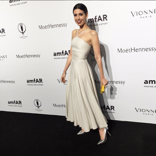 Camila Coutinho best dressed all' amfAR Milano