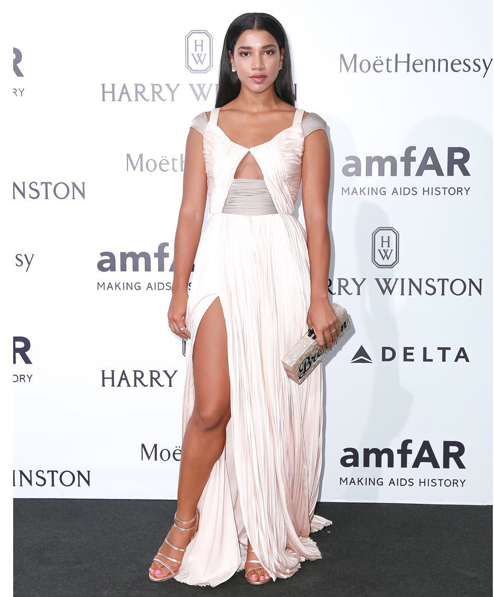 Hannah Bronfman best dressed at amfar milano
