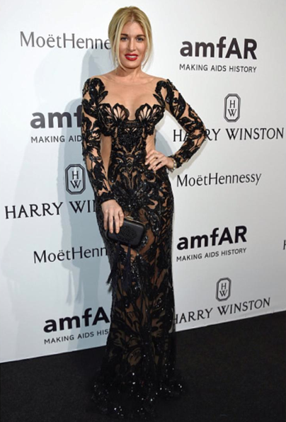 Hofit Golan Best dressed at amfAR Milano