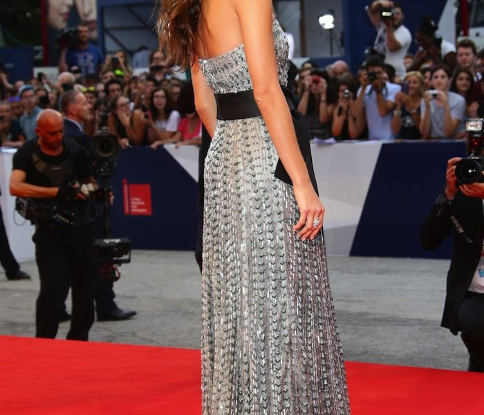 Elisa Sednaoui at the Opening Ceremony of Venice Film Festival 2015
