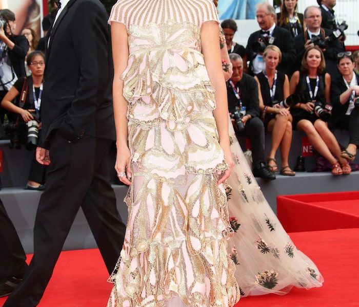 Kasia Smutniak at Venice Film Festival 2015