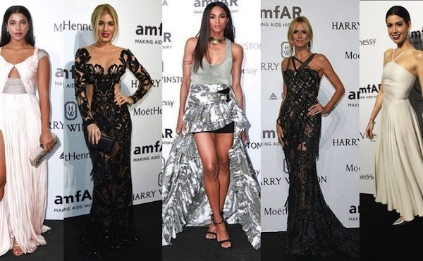 THE MOST SEXY LOOK AT AMFAR MILANO 2015