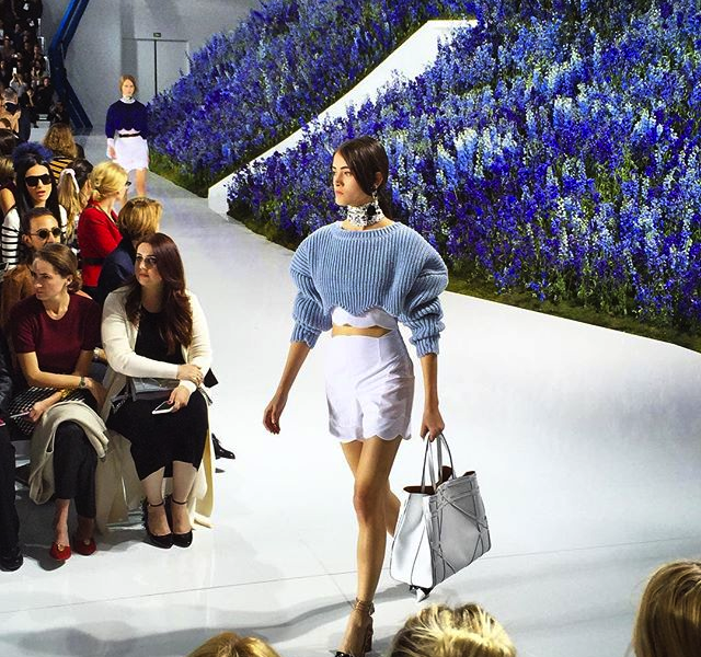 DIOR printemps-été 2016 Fashion Show