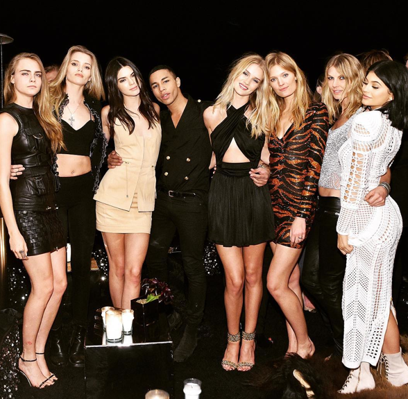 IL COMPLEANNO DI OLIVIER ROUSTEING A HOLLYWOOD