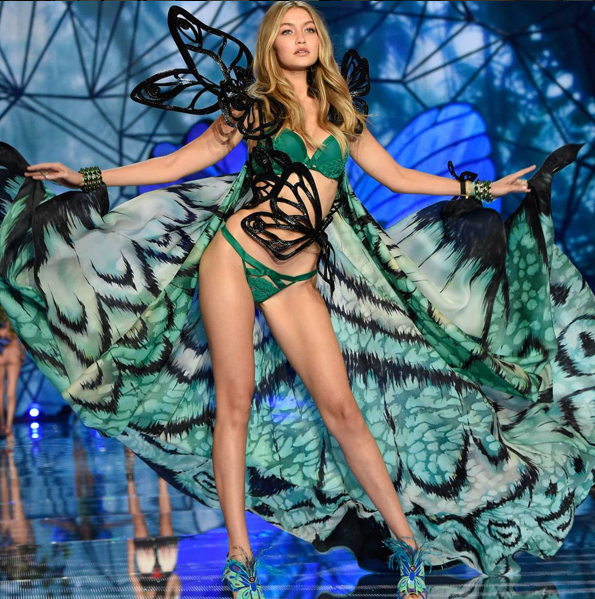 GIGI HADID NEW VICTORIA'S SECRET ANGEL