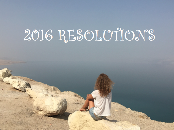 2016 resolutions