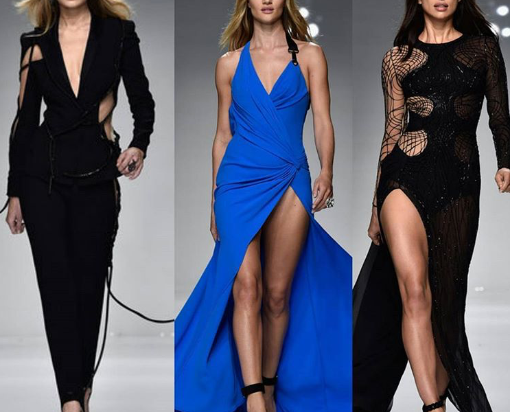 TOP 3 DRESSES AT ATELIER VERSACE SS16