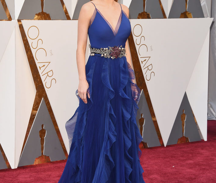 BRIE LARSON BEST ACTRESS AT THE OSCARS 2016
