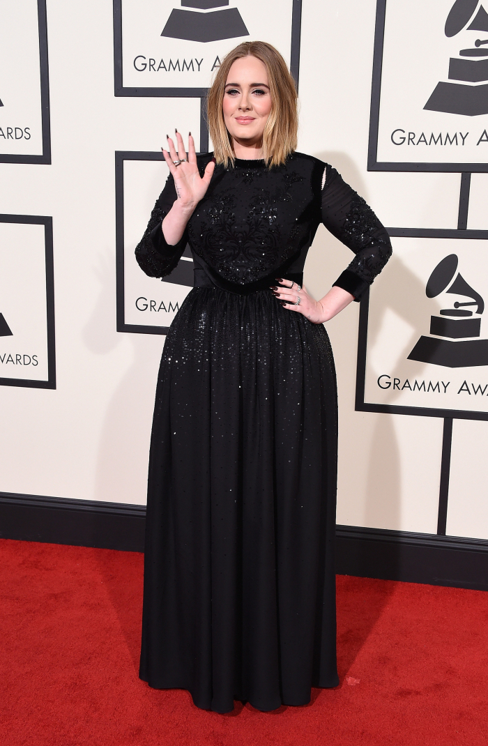 adele-best-dressed-grammys-2016