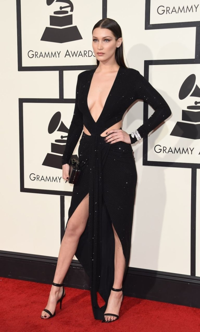 Bella Hadid Best Dressed At The Grammys 2016 V Fashion World